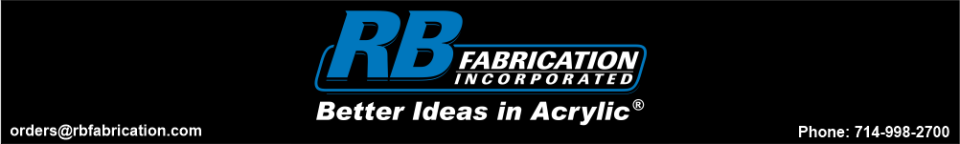 R.B. Fabrication Inc. - acrylic awards, corporate plaques, recognition plaques, glass awards, gifts, corporate awards, orange, ca, california